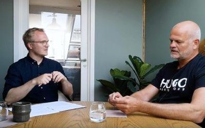 Relationsfabrikant Jacob Mikkelsen, har deltaget i Podcast