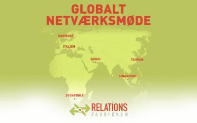 Globalt netværksmøde – vi har inviteret Taiwan, Singapore, Dubai, Sydafrika og Italien med